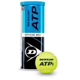 Tenisové míče Dunlop ATP Official Ball (4 ks)