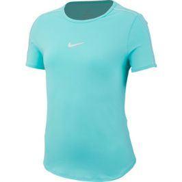 Dívčí tričko Nike Court Dri-FIT Top Light Aqua