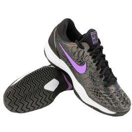 Pánská tenisová obuv Nike Zoom Cage 3 Black/Violet