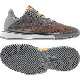 Pánská tenisová obuv adidas SoleMatch Bounce M Grey