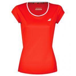 Dívčí tričko Babolat Core Flag Club Tee Red