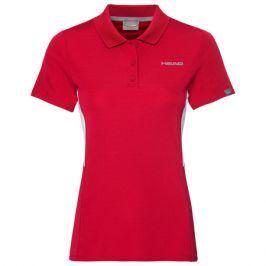 Dívčí tričko Head Club Tech Polo Red