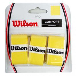Omotávka na rakety vrchní Wilson Pro Overgrip Yellow (3 ks)