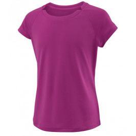 Dívčí tričko Wilson Cap Sleeve Berry
