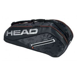 Taška na rakety Head Tour Team Combi 6R Black/Silver
