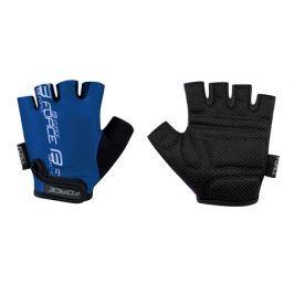 Cyklistické rukavice FORCE dětské tmavě modré