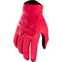 Cyklistické rukavice Fox Flexair Glove Rio červené