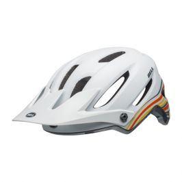 Cyklistická helma BELL 4Forty matná bílo-oranžová