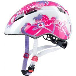 Dětská cyklistická helma Uvex Kid 2 růžové jahody