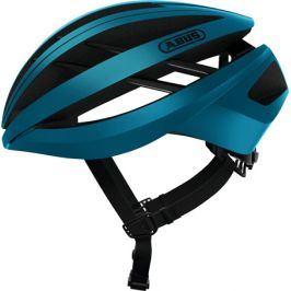 Cyklistická helma ABUS Aventor steel blue