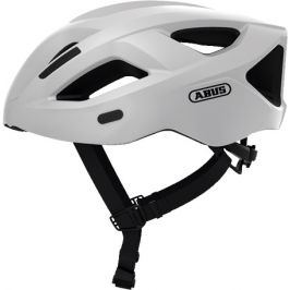 Cyklistická helma ABUS Aduro 2.1 polar white