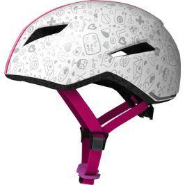 Dětská cyklistická helma ABUS Yadd-I Kid white crush