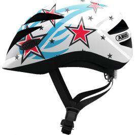 Dětská cyklistická helma ABUS Hubble 1.1 white star