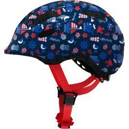 Dětská cyklistická helma ABUS Smiley 2.1 blue maritim