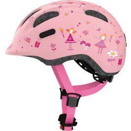 Dětská cyklistická helma ABUS Smiley 2.0 rose princess