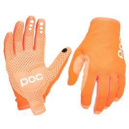 Dlouhoprsté cyklistické rukavice POC Avip oranžové