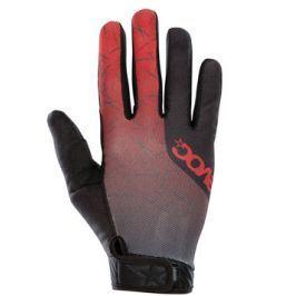 Cyklistické rukavice EVOC ENDURO TOUCH červeno-šedé