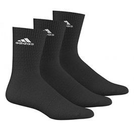 Ponožky adidas Performance Crew T Black 3 páry