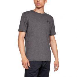 Pánské tričko Under Armour Sportstyle Left Chest SS Grey