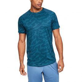 Pánské tričko Under Armour MK1 SS Printed modré
