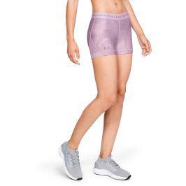 Dámské šortky Under Armour HG Armour Shorty Print fialové