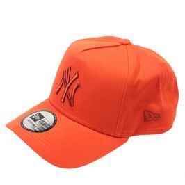 Kšiltovka New Era 9Forty League Essential A-Frame MLB New York Yankees Orange
