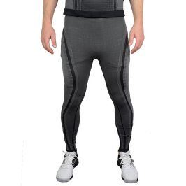 Pánské spodky Endurance Adam Baselayer Long Tights Black