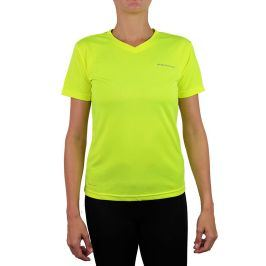 Dámské tričko Endurance Vista Performance neonově žluté