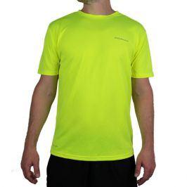 Pánské tričko Endurance Vernon Performance neonově žluté