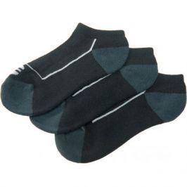 Ponožky Endurance Boron Low Cut 3-pack černé