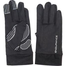 Běžecké rukavice Endurance Watford Unisex černé