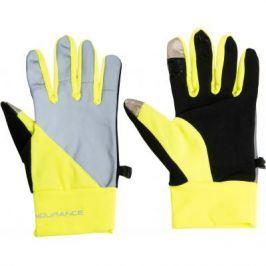 Běžecké rukavice Endurance Mingus neonově žluté