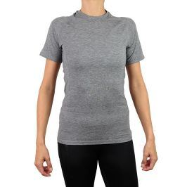 Dámské tričko Endurance Tearoa Wool SS šedé