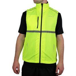Běžecká vesta Endurance Laupen Unisex neonově žlutá