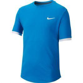 Dětské tričko Nike Court Dry Top SS Blue