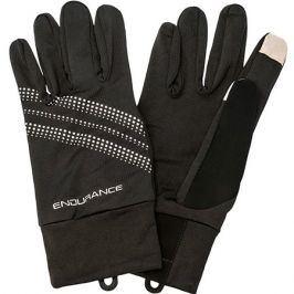 Běžecké rukavice Endurance Sherman černé