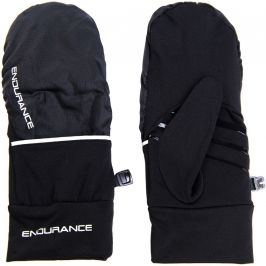 Běžecké rukavice Endurance Silverton Mittens černé