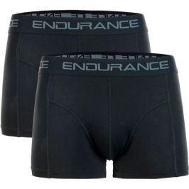 Pánské boxerky Endurance Brighton Bamboo 2-pack černé