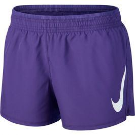 Dámské šortky Nike Swoosh Run Short fialové