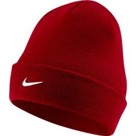 Dětská čepice Nike Beanie Metal Swoosh červená