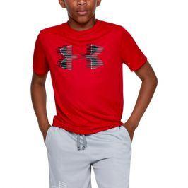 Chlapecké tričko Under Armour Tech Big Logo Soli Tee červené