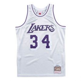 Dres Mitchell & Ness Platinum Swingman Jersey NBA Los Angeles Lakers Shaquille O'Neal 34