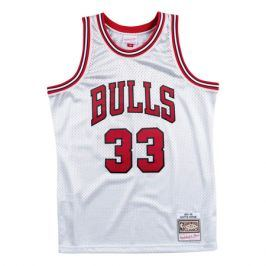 Dres Mitchell & Ness Platinum Swingman Jersey NBA Chicago Bulls Scottie Pippen 33