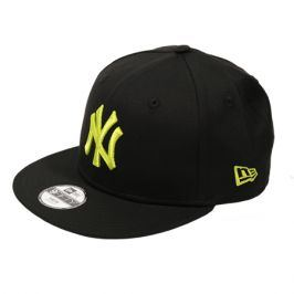 Dětská kšiltovka New Era 9Fifty League Essential MLB New York Yankees Black/Cyber Green