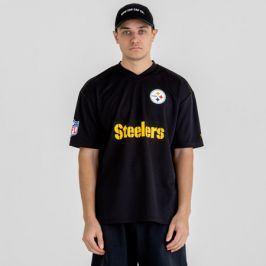 Pánské tričko New Era Wordmark Oversized NFL Pittsburgh Steelers
