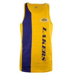 Pánské tričko bez rukávů New Era Team Wordmark Tank NBA Los Angeles Lakers