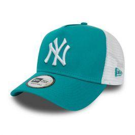 Dámská kšiltovka New Era A-Frame Trucker League Essential MLB New York Yankees Teal/White