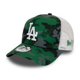 Kšiltovka New Era 9Forty Camo Trucker MLB Los Angeles Dodgers Green