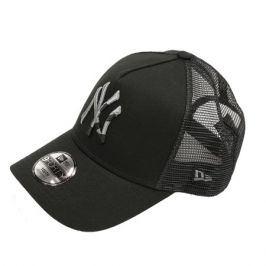 Dětská kšiltovka New Era 9Forty Trucker Camo Infilll MLB New York Yankees Black