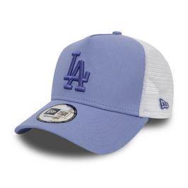 Dámská kšiltovka New Era 9Forty A-Frame Trucker Essential MLB Los Angeles Dodgers Lavender/White